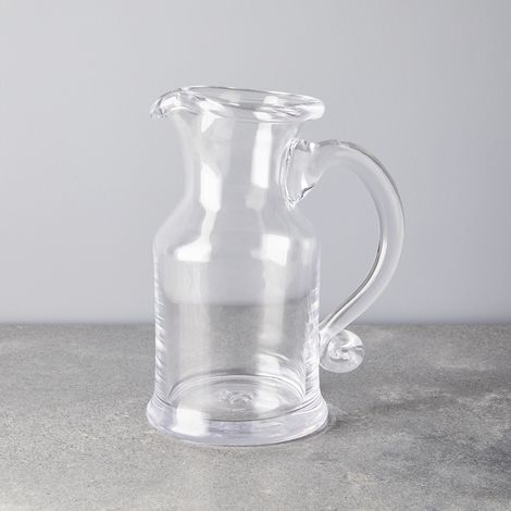 Simon Pearce Handblown Glass Windsor Jug