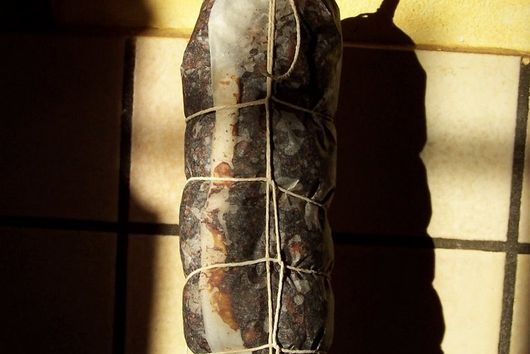Fig and Walnut Salami ( SWEET NOT MEAT)