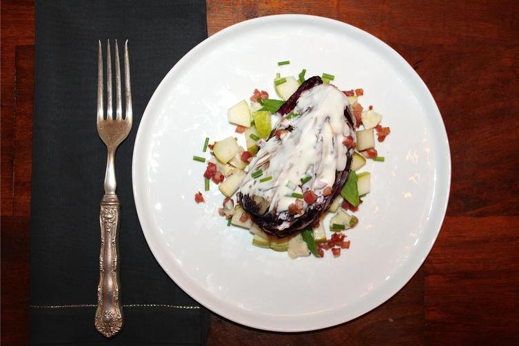 Charred Radicchio Wedge Salad
