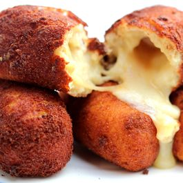 Potato Croquettes stuffed with Smoked Aged Cheddar