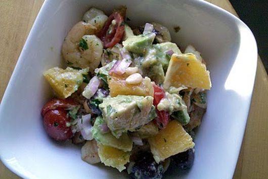 Shrimp, Avocado & Orange Salad