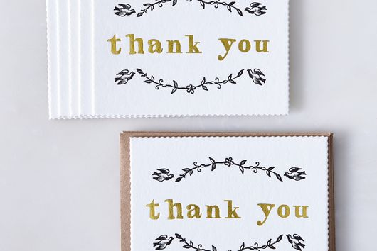 Dove Thank You Cards (Set of 6)