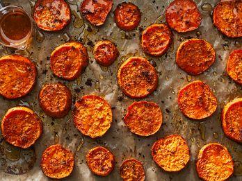 Citrus Salt Meets Sweet Potatoes for a Stellar, Savory Side