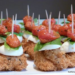 Chicken Caprese Appetizers