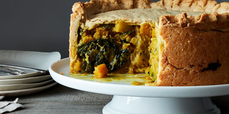 A crispity crisp crust that goes against what you know about pies