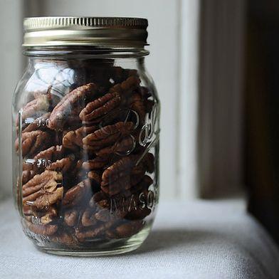 Crispy Spice-Brined Pecans