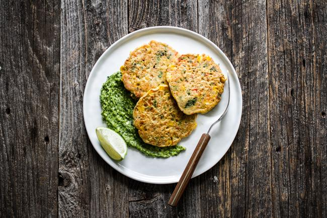 Corn Fritter Cakes