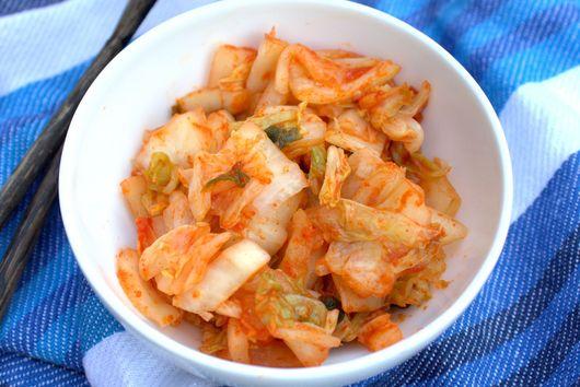Easy homemade kimchi