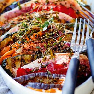 Fish and Vegetable Tian