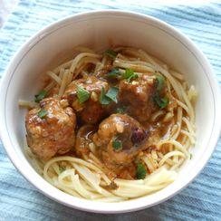 Turkey-Parmesan Meatballs