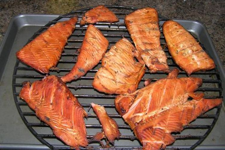 Pineapple Honey-Glazed Smoked Salmon