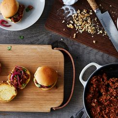 Spicy, Just-Saucy-Enough Sloppy Joes, Minus the Meat
