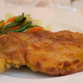 Breaded Veal Cutlet (costoletta alla milanese) - Lombardia, Secondo (Main Course