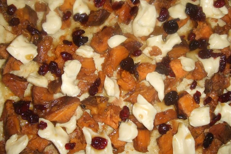 Sweet Potato Pizza