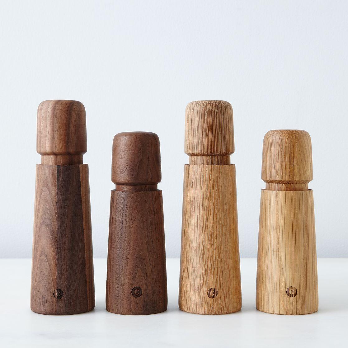 stockholm salt  pepper grinder on food - stockholm salt  pepper grinder