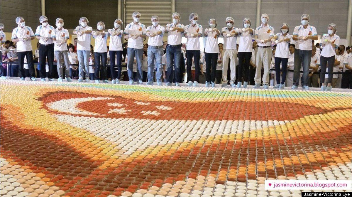 Cupcake Mosaic