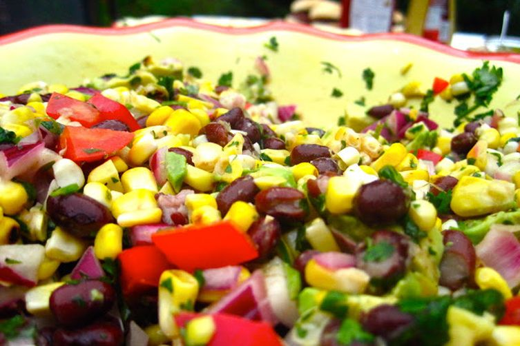 Southwestern Corn and Avocado Salad