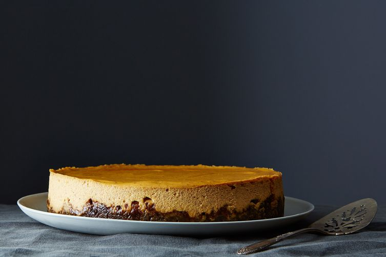 Pumpkin Cheesecake with Gingersnap Crust Recipe on Food52