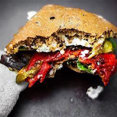 Roasted Veggie Ciabatta Sandwich - Gluten Free
