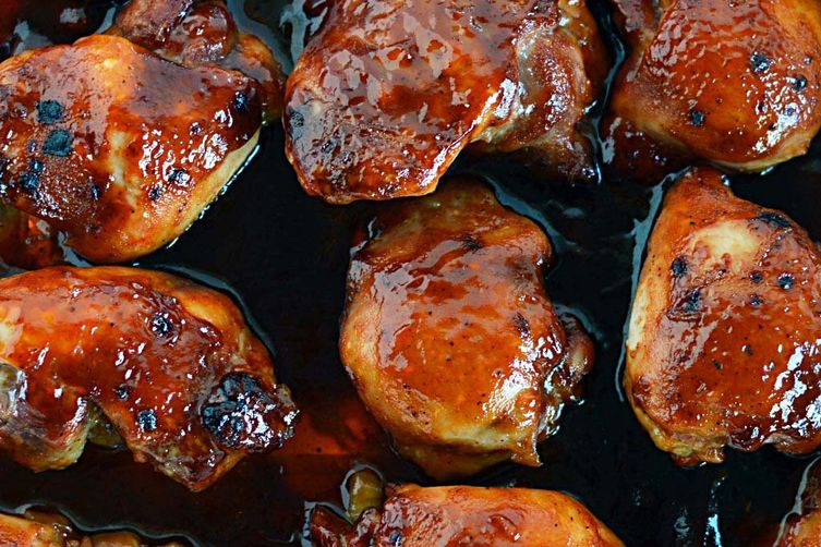 Peachy BBQ Chicken