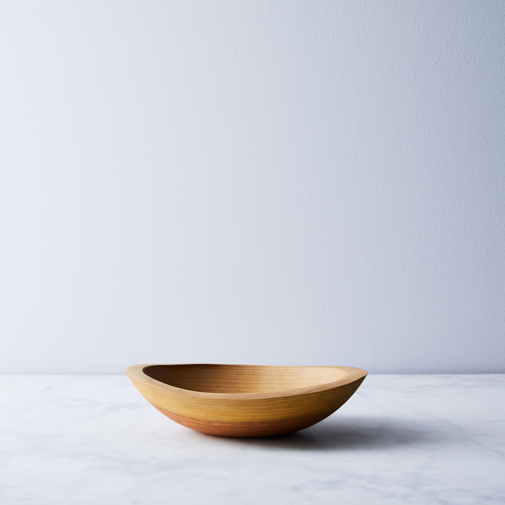 Handcrafted Organic Edge Wood Bowls on Food52 on