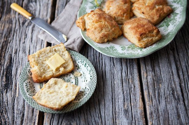 Parsnip biscuits from Food52