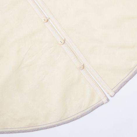 Ivory Felt Tree Skirt