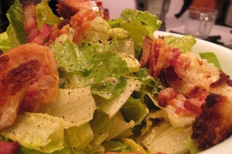 Caesar Salad with Pancetta