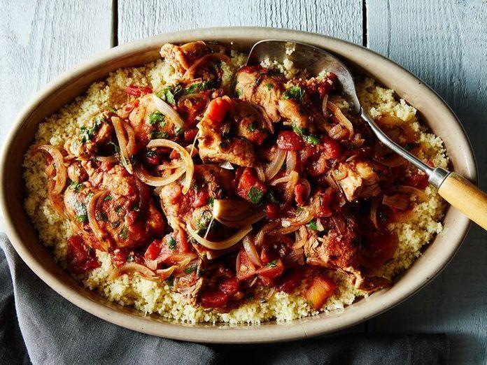 Dinner Tonight: Tunisian Chicken by Way of Burma