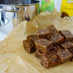 Sweet & Spicy Sesame Coconut Caramels