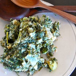 SPINACH, KALE STUFFING /DRESSING (not just for Thanksgiving!)