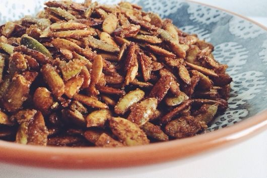 Candied Pepitas
