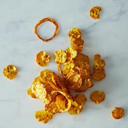 Herbed Butternut Squash Chips