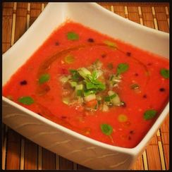 Watermelon Gaspacho
