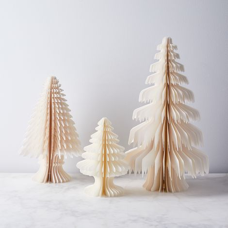 Winter Wonderland Paper Trees