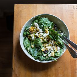 Charred Corn and Lime Salad