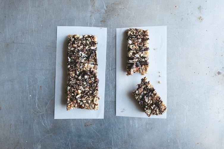 Vegan Salted Dark Chocolate Nut Bars