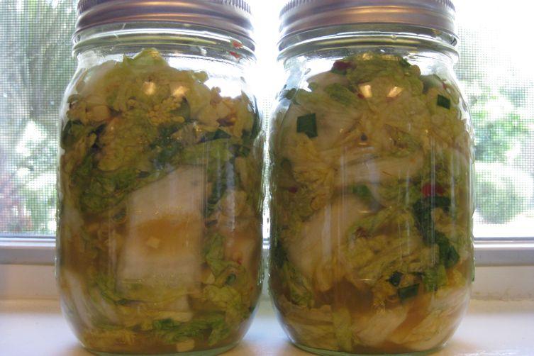 Texas Kitchen Quick Kimchi
