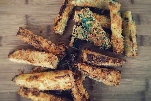 Zucchini & Sweet Potato Fries