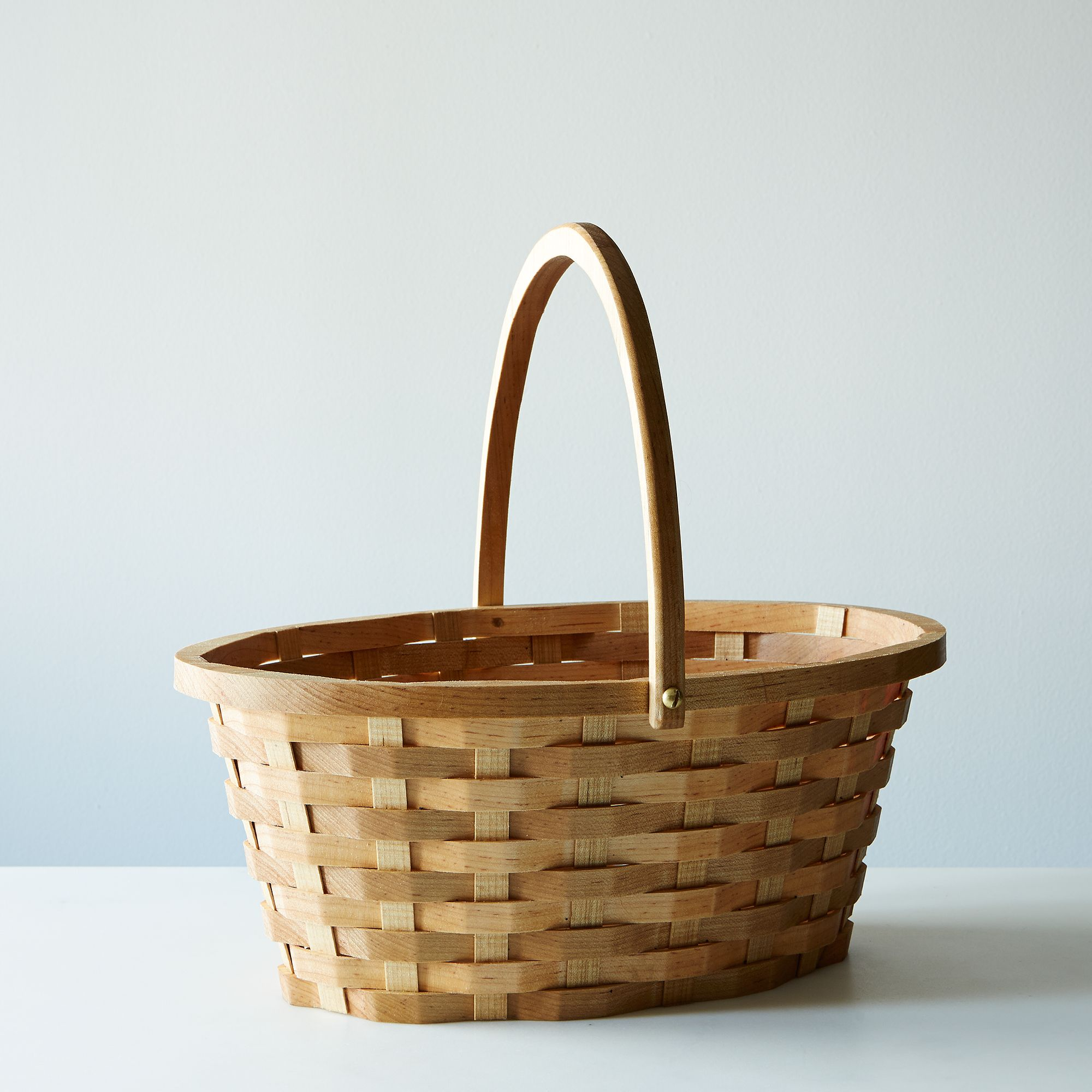 Wood Easter Basket - Soft Maple