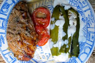 Cabffb8d cb98 4eab 8f7f 7c9692dd6e92  hatch chile rellenos served with yucutan grilled chicken