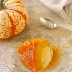 Pumpkin-Orange Flan