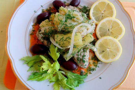 Braised Celery and Potato-Celery Aioli