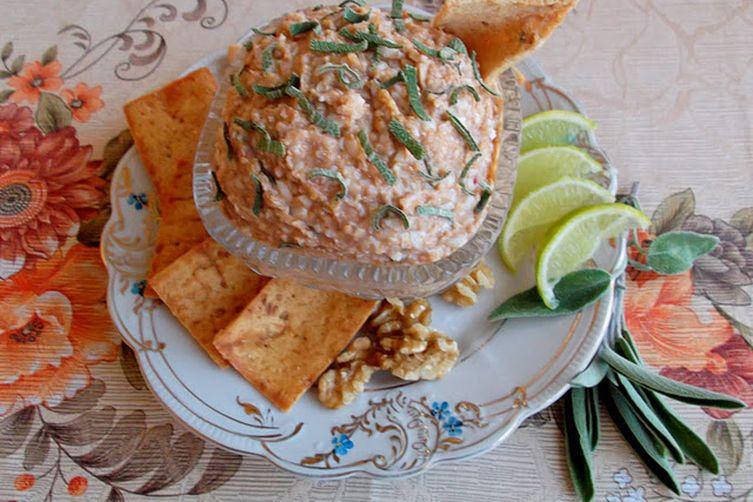 Aselila, Georgian Egg Salad with Walnuts and Sage