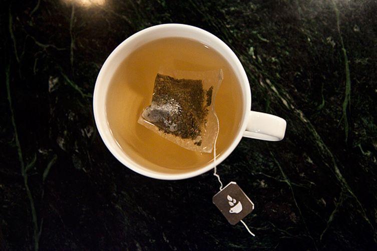Orange Green Tea Sparkler