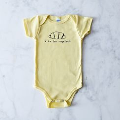 Food Alphabet Baby Onesie