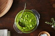 An Easy Addition Will Make Your Green Sauces Much More Versatile