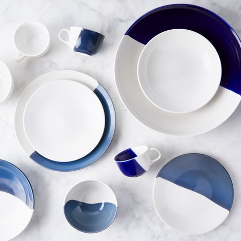 Dip Creamware Dinnerware