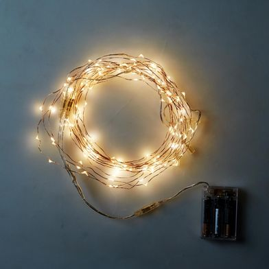 Copper Wired Dew Drop LED Lights