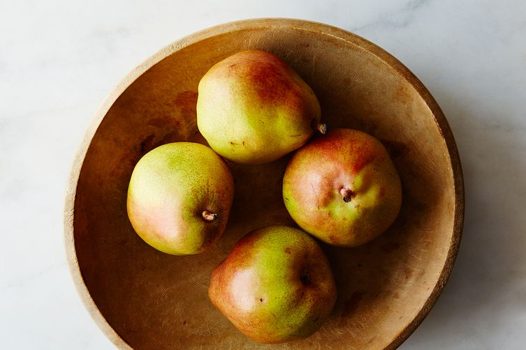 Lindsey Shere's Baked Caramel Pears